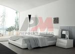 Дизайнерско легло от естествена или еко кожа
