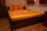 българска дървена спалня от масив
