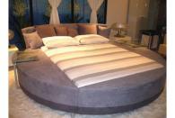фирма Луксозни тапицирани кръгли спални
