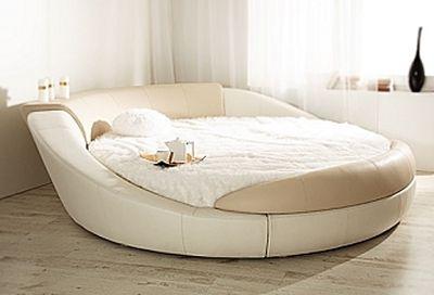 Легло с кръгла форма
