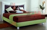 Тапицирано легло с твърда основа